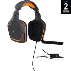 Oferta ➤ Fone Headset Gamer Prodigy G231 Preto – Logitech   . Veja essa promoção
