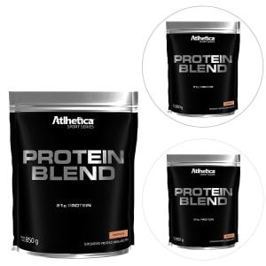 Kit 3x Protein Blend Sport Series 850g - Atlhetica Nutrition