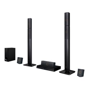 Home Theater LG LHB645N Full HD com Blu-Ray 3D Bluetooth 5.1 Canais Sound Sync Wireless 1000W