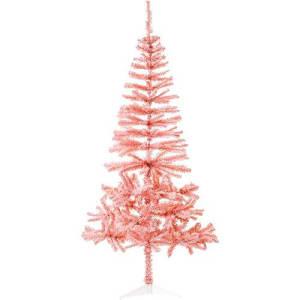 Árvore de Natal Tradicional Rosa 2,10m - Christmas Traditions