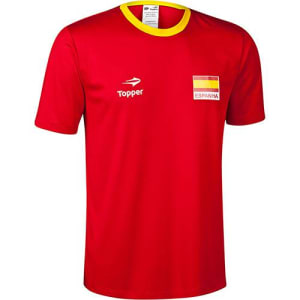 6cb2508693 Camisa Topper Torcida Espanha Masculino P   M   G   GG
