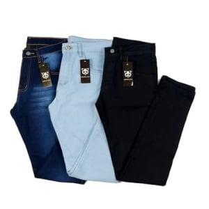 Confira ➤ Kit c/3 Calça Jeans Masculina Com Elastano  skynni Memorize Jeans ❤️ Preço em Promoção ou Cupom Promocional de Desconto da Oferta Pode Expirar No Site Oficial ⭐ Comprar Barato é Aqui!