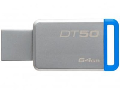 Pen Drive 64GB Kingston - DataTraveler 50 - Magazine Ofertaesperta