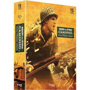 Box Marcha para a Vitória: A Caminho de Berlim + A Caminho de  Roma + A Caminho de Tóquio (15 DVDs)
