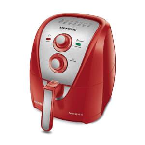 Fritadeira Elétrica Sem Óleo Mondial Air Fryer Vermelha AFN-40-BI