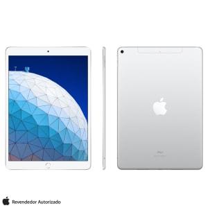 """iPad Air Silver com Tela 10,5"""", Wi-Fi + 4G, 64 GB, Processador Chip A12 - MV0E2BZ/A"""