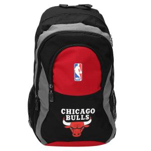 Mochila NBA Chicago Bulls Big 17 - Preto e Cinza