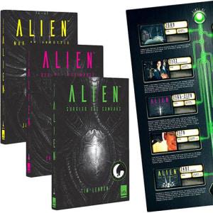 Livro - Trilogia Alien + Pôster