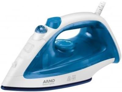 Ferro de Passar Roupa a Vapor Portátil Arno - Steamgliss FE30 Azul - Magazine Ofertaesperta