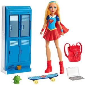 Boneca Dc Super Hero Girls Supergirl Armário Raio-x - Mattel