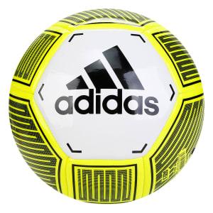 Bola de Futebol Campo Adidas Starlancer VI - Branco e Preto