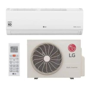 Ar Condicionado Split Hi Wall LG DUAL Inverter Voice 9000 BTUs Quente e Frio - S4-W09WA51A - 220V