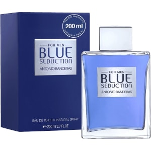 Perfume Masculino Blue Seduction Antonio Banderas Eau de Toilette 200ml - Incolor