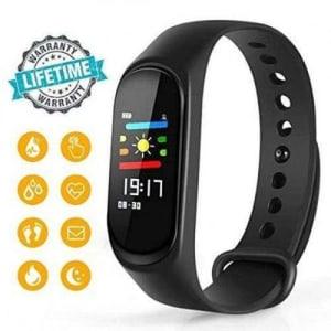 Relógio Smartband Bracelet Pulseira Inteligente M3 Batimentos Cardíacos - Smart Bracelet M3