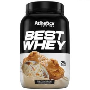 Proteina Atlhetica Best Whey Doce de Leite 900g