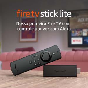 [Pré-Venda] Novo Fire TV Stick Lite com Controle Remoto Lite por Voz com Alexa | Modelo 2020