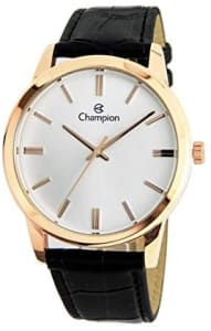 Relógio CN20702Z, Champion, Feminino, Preto/rose,