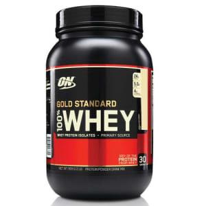 Whey Protein Gold Standard 100% 909G - Baunilha - Optimum Nutrition