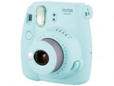 Câmera Instantânea Fujifilm Instax Mini 9 - Azul Aqua - Magazine Ofertaesperta