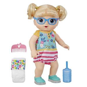 Boneca Baby Alive Bebê Passos E Sorrisos Loira - E5247 - Hasbro