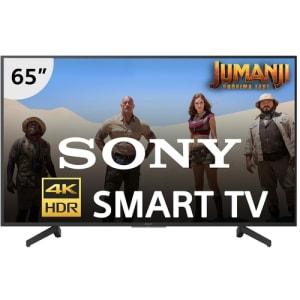 """Smart TV LED 65"""" Sony KD-65X705G Ultra HD 4K com Conversor Digital 3 HDMI 3 USB Wi-Fi - Preta"""