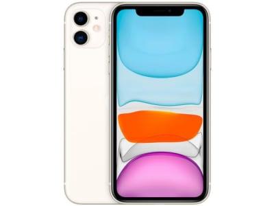 "iPhone 11 Apple 64GB 6,1"" 12MP iOS - Branco"