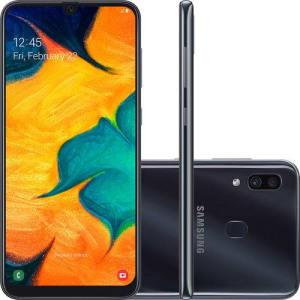 """Smartphone Samsung Galaxy A30 64GB Dual Chip 4GB RAM Tela 6.4"""""""