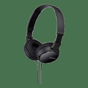 Fone de Ouvido Sony Headphone MDR-ZX110 Preto - Dobravel