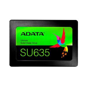 SSD Adata SU635 240GB SATA Leituras: 520MB/s e Gravações: 450MB/s - ASU635SS-240GQ-R