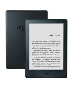 """Kindle 8ª Geração com Wi-Fi 4GB Tela 6"""" - Amazon - Preto"""