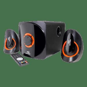 Caixa de Som Sumay Multimídia Bluetooth, FM, USB, SD e Controle Remoto  SM-CS3313B Preto