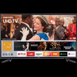 Oferta ➤ Smart TV LED 58 Samsung 58mu6120 Ultra HD 4K com Conversor Digital Integrado 3 HDMI 2 USB Wi-Fi  Smart Tizen, Espelhamento de Tela   . Veja essa promoção