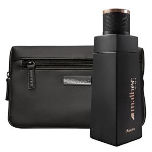 Combo Malbec Black: Desodorante Colônia + Nécessaire