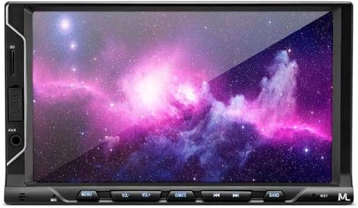 Central Multimídia Multilaser Evolve P3340 FIT S Tela 7 Pol Capacitiva 2Din Mp5 Mirror Link iOS Android