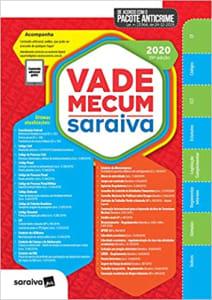 Livro Vade Mecum Saraiva 2020 Tradicional - 29ª Edição: Atualizado Com o Pacote Anticrime