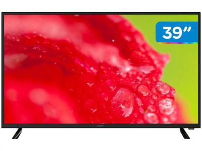 "Smart TV DLED 39"" Cobia CTV39FHDSM - Wi-Fi 2 HDMI 1 USB"