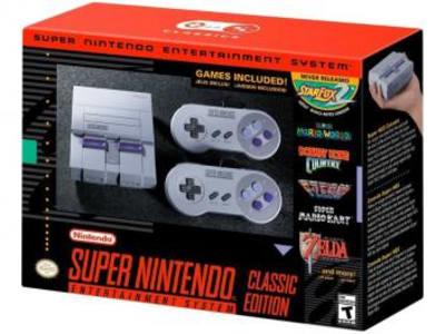 Super Nintendo Classic Edition Compacto - 2 Controles Conexão HDMI e USB 21 Jogos na Memória - Magazine Ofertaesperta