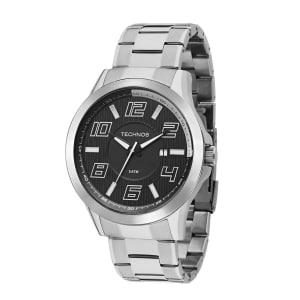 6caef136031 Relógio Technos Racer Masculino Prata Analógico 2115KNE 1P