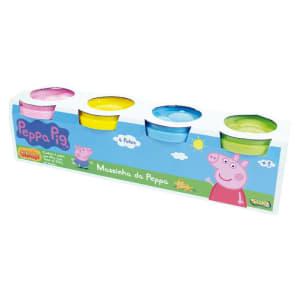 Massa de Modelar Peppa Pig 4 Potes - Sunny