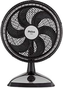 Ventilador, P400 turbo, Preto, 220V, Philco