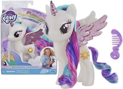 Figura, My Little Pony, E5964, Princesa Celestia - Hasbro, Branco