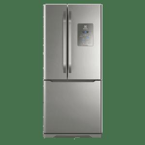 Geladeira Frost Free Electrolux 579 Litros 3 Portas Inverse Cor Inox (DM84X)