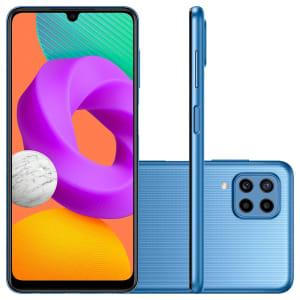 Confira ➤ Smartphone Samsung Galaxy M22, 128GB, 4GB RAM, Octa Core, Câmera Quádrupla 48MP, Tela Infinita 6.4, Azul – SM-M225FLBSZTO ❤️ Preço em Promoção ou Cupom Promocional de Desconto da Oferta Pode Expirar No Site Oficial ⭐ Comprar Barato é Aqui!