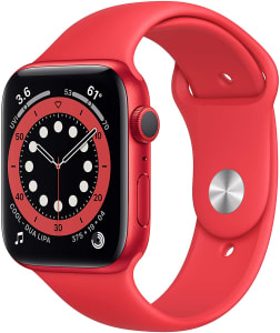 APPLE WATCH SERIES 6 44MM VERMELHO (RED) GPS M00M3LL/A A2292