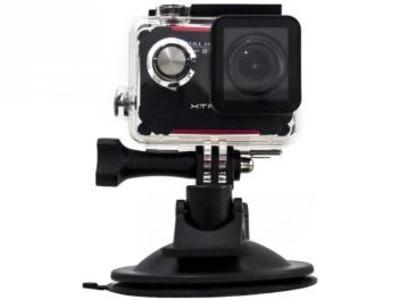 "Câmera Digital XTrax Evo Esportiva Display 1,5"" - Panorâmica Filma Full HD com Acessórios"