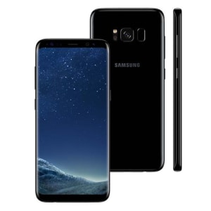 """Smartphone Samsung Galaxy S8 Dual Chip Preto com 64GB, Tela 5.8"""", Android 7.0, 4G, Câmera 12MP e Octa-Core"""