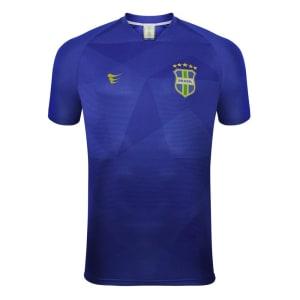 Camisa Super Bolla Brasil Jogador S/Nº Masculina - Azul Royal
