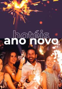 Hotéis para o Reveillon com 10% a 18% de Desconto!