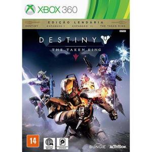 Game Destiny - The Taken King - Edição Lendária: Destiny, Espansão I, Espansão II, The Taken King - Xbox 360