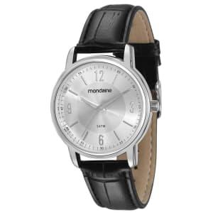 Relógio Feminino Analógico Mondaine 83278L0MVNH2 - Preto